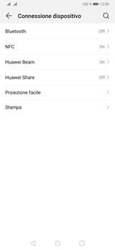 Huawei P30 - Bluetooth - Collegamento dei dispositivi - Fase 4