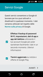 HTC One M9 - Applicazioni - Configurazione del negozio applicazioni - Fase 12