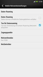 HTC One Max - Netzwerk - Netzwerkeinstellungen ändern - Schritt 7