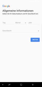 Samsung Galaxy S9 Plus - Apps - Konto anlegen und einrichten - 7 / 21