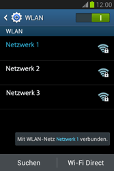Samsung Galaxy Fame Lite - WiFi - WiFi-Konfiguration - Schritt 8
