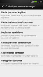 HTC Desire 601 - Contacten en data - Contacten kopiëren van toestel naar SIM - Stap 6