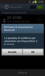 Samsung Galaxy Trend Lite - Bluetooth - Collegamento dei dispositivi - Fase 7
