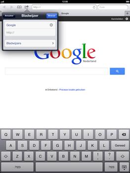 Apple iPad 4 - Internet - Internet gebruiken - Stap 7
