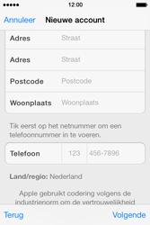Apple iPhone 4 S - iOS 7 - apps - account instellen - stap 22