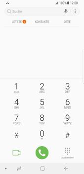 Samsung Galaxy S8 - Android Oreo - Anrufe - Anrufe blockieren - Schritt 4