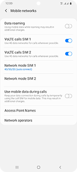 Samsung Galaxy S20 Ultra 5G - Network - How to enable 5G network connection - Step 6