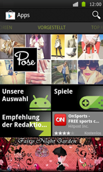 Samsung I9000 Galaxy S - Apps - Herunterladen - Schritt 16