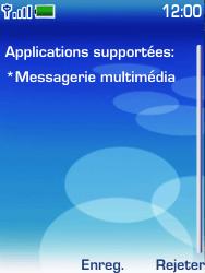 Nokia 6233 - MMS - configuration automatique - Étape 4