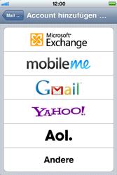 Apple iPhone 3G - E-Mail - Konto einrichten - Schritt 5