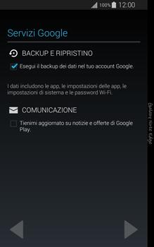 Samsung Galaxy Note Edge - Applicazioni - Configurazione del negozio applicazioni - Fase 13