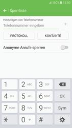 Samsung G920F Galaxy S6 - Android M - Anrufe - Anrufe blockieren - Schritt 8