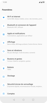 OnePlus 7 Pro - Internet et connexion - Activer la 4G - Étape 4