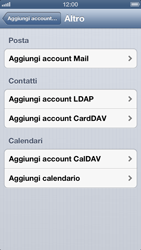 Apple iPhone 5 - E-mail - Configurazione manuale - Fase 10
