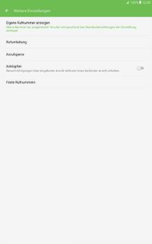 Samsung Galaxy Tab A 10-1 - Anrufe - Rufumleitungen setzen und löschen - Schritt 7