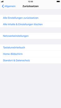 Apple iPhone 8 Plus - iOS 14 - Gerät - Zurücksetzen auf die Werkseinstellungen - Schritt 5