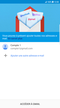 Samsung Samsung G928 Galaxy S6 Edge + (Android N) - E-mail - Configuration manuelle (gmail) - Étape 15