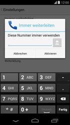 LG D821 Google Nexus 5 - Anrufe - Rufumleitungen setzen und löschen - Schritt 9