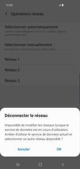 Samsung Galaxy S10 Plus - Réseau - Sélection manuelle du réseau - Étape 11