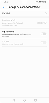 Huawei Y7 (2019) - Internet - comment configurer un point d'accès mobile - Étape 5