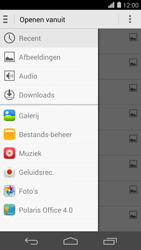 Huawei Ascend P7 - E-mail - hoe te versturen - Stap 11