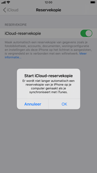 Apple iPhone 8 Plus - iOS 13 - Data - Maak een back-up met je account - Stap 11