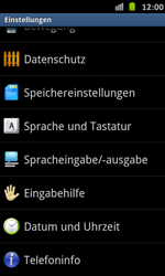 Samsung Galaxy S Advance - Software - Installieren von Software-Updates - Schritt 5