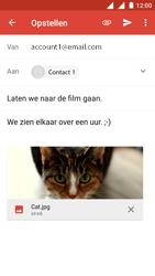 Nokia 3 (Dual SIM) - E-mail - Bericht met attachment versturen - Stap 15