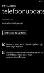 Nokia Lumia 625 - Software updaten - Update installeren - Stap 7
