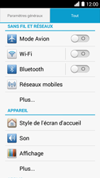 Huawei Ascend Y530 - MMS - configuration manuelle - Étape 4