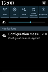 Samsung S6810P Galaxy Fame - MMS - Automatic configuration - Step 4