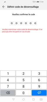Huawei P Smart (2019) - Sécuriser votre mobile - Activer le code de verrouillage - Étape 7