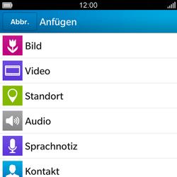BlackBerry Q5 - MMS - Erstellen und senden - Schritt 12