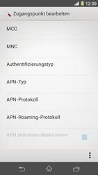 Sony Xperia Z1 - Internet - Manuelle Konfiguration - Schritt 16