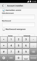 Huawei Ascend Y330 - E-mail - e-mail instellen: POP3 - Stap 15