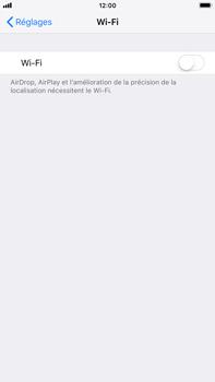 Apple iPhone 6 Plus - iOS 12 - Wi-Fi - Accéder au réseau Wi-Fi - Étape 4