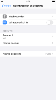 Apple iPhone 6s Plus - iOS 13 - E-mail - e-mail instellen: IMAP (aanbevolen) - Stap 16