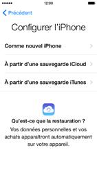 Apple iPhone 5 (iOS 8) - Premiers pas - Créer un compte - Étape 12