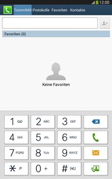Samsung Galaxy Tab 3 8-0 LTE - Anrufe - Anrufe blockieren - 0 / 0