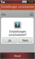 Samsung Star - Fehlerbehebung - Handy zurücksetzen - 2 / 2