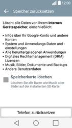 LG Leon - Fehlerbehebung - Handy zurücksetzen - Schritt 9