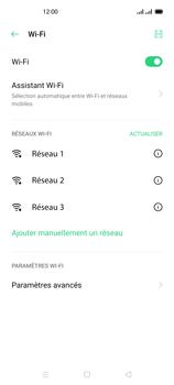 Oppo Reno 4 - Internet et connexion - Accéder au réseau Wi-Fi - Étape 6