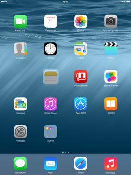 Apple iPad mini iOS 8 - Prise en main - Personnalisation de votre écran d