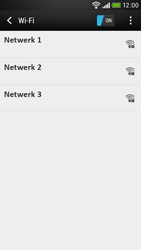 HTC Desire 601 - wifi - handmatig instellen - stap 6
