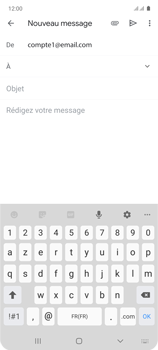 Samsung Galaxy Note 10 Lite - E-mails - Envoyer un e-mail - Étape 6