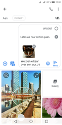 Huawei Y5 (2018) - MMS - afbeeldingen verzenden - Stap 18