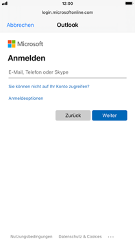 Apple iPhone 6s Plus - iOS 14 - E-Mail - 032c. Email wizard - Outlook - Schritt 6