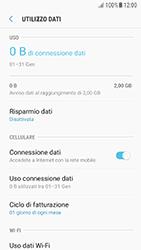 Samsung Galaxy A5 (2016) - Android Nougat - Internet e roaming dati - Come verificare se la connessione dati è abilitata - Fase 7