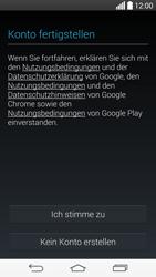 LG D722 G3 S - Apps - Konto anlegen und einrichten - Schritt 14
