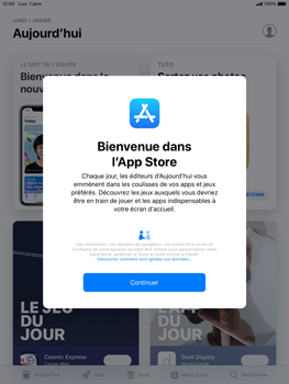 Apple iPad Mini 3 - iOS 12 - Applications - Télécharger des applications - Étape 4